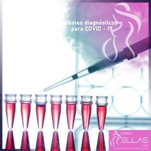 Testes diagnósticos para COVID – 19